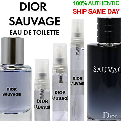 Dior Sauvage Eau de Toilette EDT Men's 3ml 5ml 10ml 33ml Decant Spray Bottle