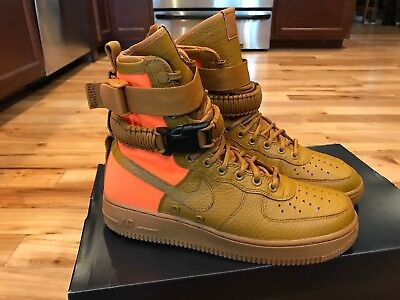 14b6c0f7eb2 Nike SF AF1 QS Special Field Air Force 1 High Desert Ochre 903270-778 Size