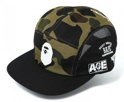 97cbb8848e1 A BATHING APE 1ST CAMO JET CAP Green Mens One size fits all Japan with  Tracking