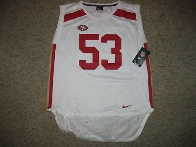 dec9738223d NWT SAN FRANCISCO 49ers NaVorro Bowman Nike Sleeveless Womens Football  Jersey L -  24.99