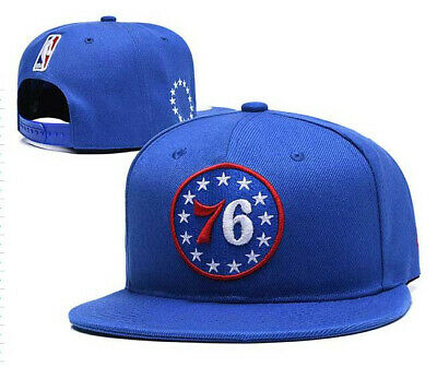 Philadelphia 76ers NBA Team Cap adjustable snapback Black