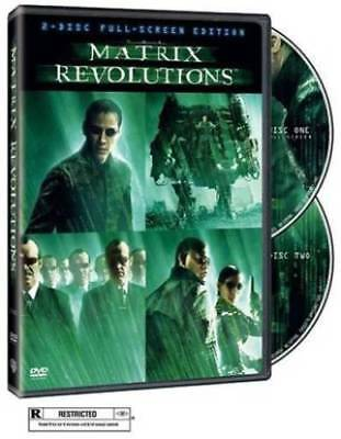 The Matrix Revolutions (Two-Disc Full Screen Edition) DVD Keanu Reeves,Lau