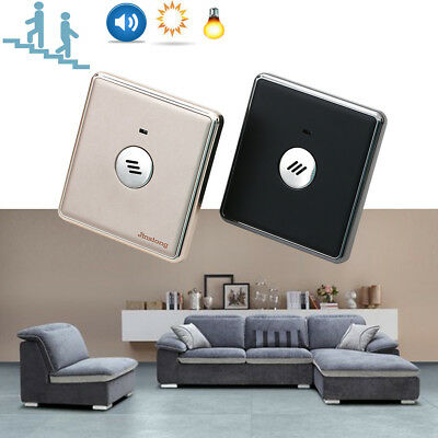Wall Mount Smart Voice Sound & Light Controlled Sensor Activated Durable Switch