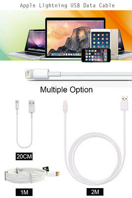 20cm/1m/2m USB Charging Charger Cable Cord For iPhone 5 5S 6 6S 7 7S Plus