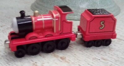 Thomas The Tank  Engine Di-Cat Railway Train James RED 2002 Learning Curve