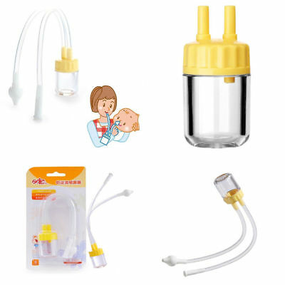 Baby Safe Nose Cleaner Vacuum Suction Infant Nasal Mucus Runny Aspirator Inhale