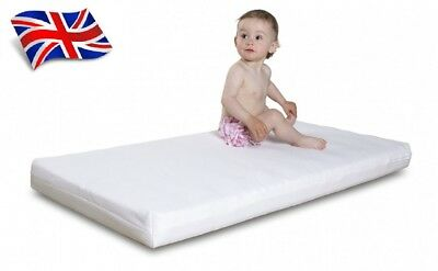BIG SALE Baby Toddler Cot Bed Mattress Breathable Quilted 120x60 140x70cm