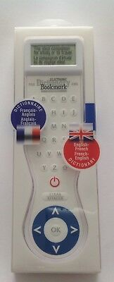 Electronic Dictionary Bookmark  English - French / French- English
