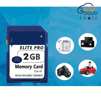 2GB SD Card Standard 2GB Secure Digital SD Memory Card Wholesale for Camera MP4