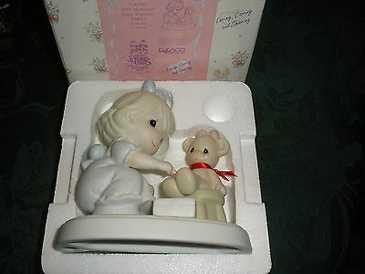 Precious Moments Caring 1994 Members Only Figurine w/ Box