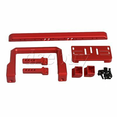 Red Aluminum Alloy Metal Front Bumper Red For TRAXXAS TRAX4 RC1:10 Crawler Car