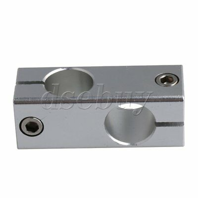 Aluminum Alloy 20mm Hole Diameter Cross Linear Shaft Support Connectors