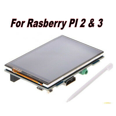 "3.5"" LCD Touch Display Screen Board + Pen Kit For Raspberry Pi 2 3"