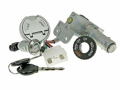 Kymco Agility 50cc Ignition Lock Barrel Key Set