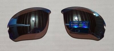 4e40f217e6 OAKLEY Flak Draft   Speed Jacket Prizm Deep Water Polarized Replacement  Lenses