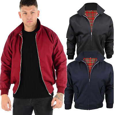 Vintage Harrington Jacket Mens Classic Retro Scooter 1970's Bomber Mod Coat Top