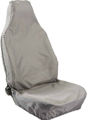 HD WATERPROOF SINGLE GREY SEAT COVER for LANDROVER DISCOVERY 4 (10-ON)