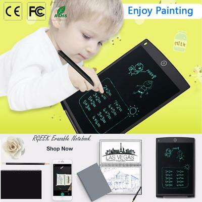 "12""LCD Notepad Notizblock Writing Tablet Handschrift Schreibtafel DigiMemo Stift"