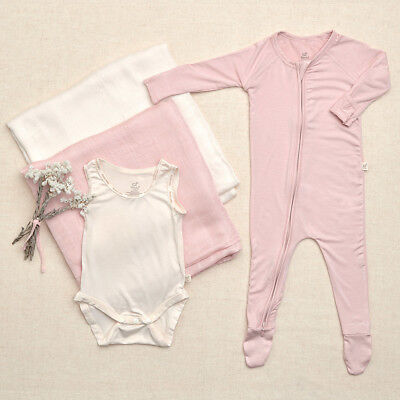 NEW Take Me Home New Baby Gift Set #1 (3 Items) by Boody Organic Bamboo Eco Wear
