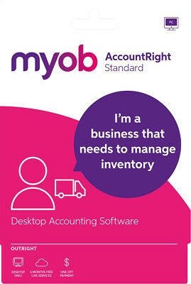 New MYOB - AccountRight Standard - Outright - Windows - Digital Delivery