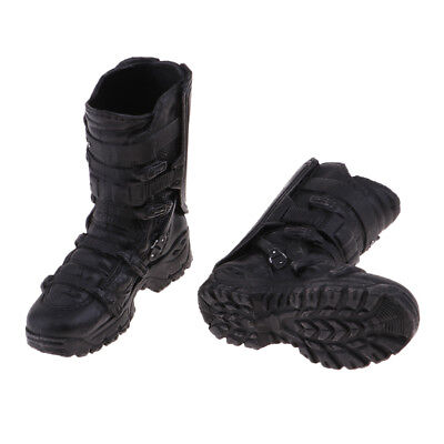 For 12'' Action Phicen Kumik Hot Doll Male High Ankle Boots
