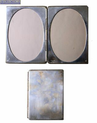 Vintage Tiffany & Co. 925 Sterling Silver Rectangular Travel Compact Photo Case