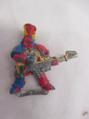 Warhammer 40K Guitar Chaos Space Noise Marine Rogue Trader - Metal