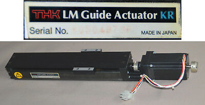 Lineareinheit THK LM Guide Actuator KR mit Hybrid Schrittmotor API Motion