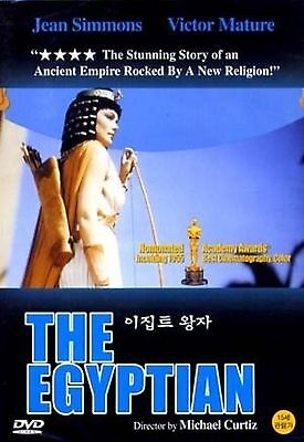 The Egyptian -  Jean Simmons, Michael New and Sealed UK Region 2 Compatible DVD