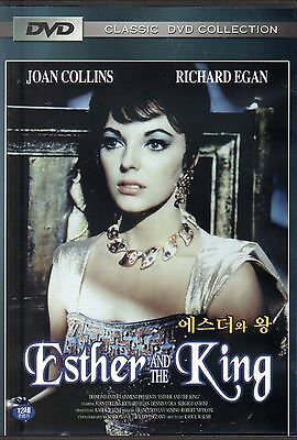 ESTHER AND THE KING 1960 - (UK seller!!) Joan New Sealed Region 2 Compatible DVD