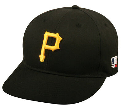 Pittsburgh Pirates Home Replica Baseball Cap Adjustable Youth or Adult Hat Black