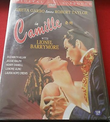 Camille 1936 - Greta Garbo, Robert Taylor New Sealed All Region Compatible DVD