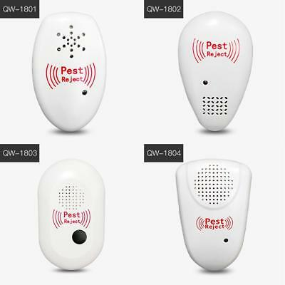 Electronic Ultrasonic Anti Mosquito Cockroach Insect Repeller Pest Reject Killer