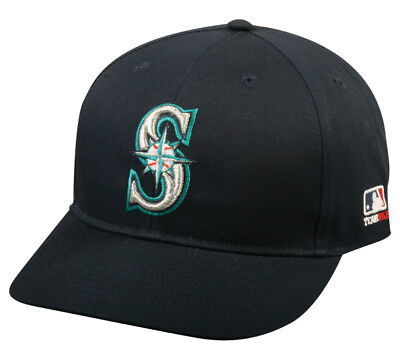 Seattle Mariners Replica Baseball Cap Adjustable Youth or Adult Twill Hat