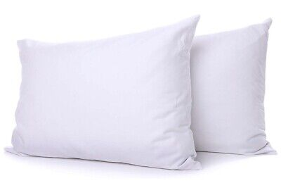 Soft Microfiber cover Style Ultra Bounce Back 1Pillows Pair Extra Firm Soft