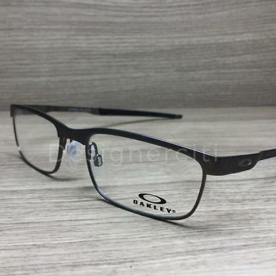 76a845af38d Oakley Steel Plate Eyeglasses Powder Cement OX3222-0252 Authentic 52mm