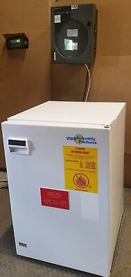 VWR Scientific Products U2005XA14 Explosion Proof Freezer w/ Temp Chart Recorder