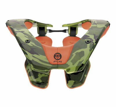Atlas Youth Tyke Neck Brace Ruck Camo AT3-05-000
