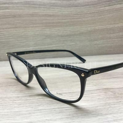 6c328eb2091e4 NEW CHRISTIAN DIOR EYEGLASSES CD 3253 807 BLACK 54mm RX AUTHENTIC ...