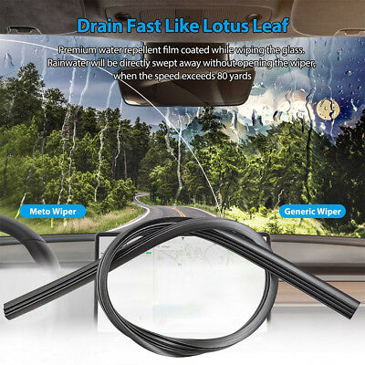 26'' 650mm Car SUV Silicone Universal Frameless Windshield Wiper Blade Refill