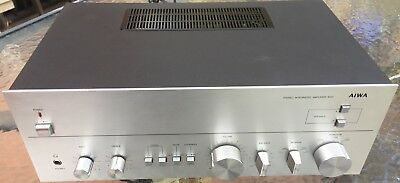 Vintage Aiwa Stereo Amplifier #8100 - Great Looking Model & Excellent Condition
