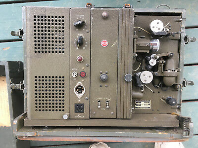 Antique Military Rca Pg-200-A Projector/amplifier + Accessory/speaker Kit- Works