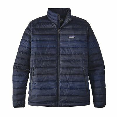Patagonia Men's Down Sweater Jacket in Distressed Navy #84674 - Sz M - NWT