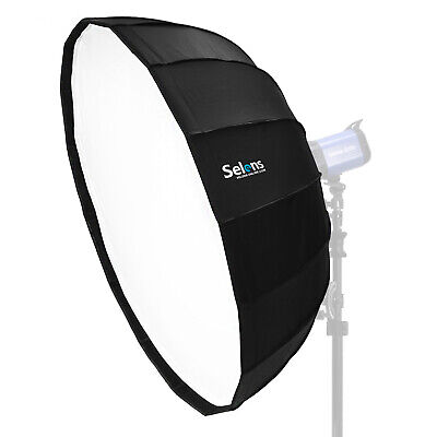 Selens 85cm Parabolic Beauty Dish Umbrella Softbox For Studio Lighting Flash