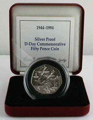 1994 Normandy D-Day Coin - 50 pence