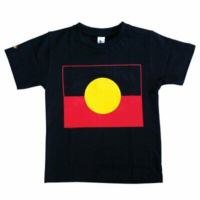 Aboriginal Flag Childrens T-shirts