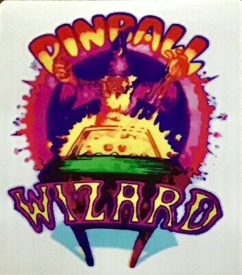 Pinball Wizard Decal Sticker