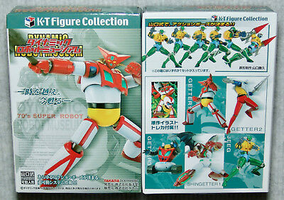 Takara K·T Figure Collection Dynamic Robot Museum Complete Set of 5 Getter Robo