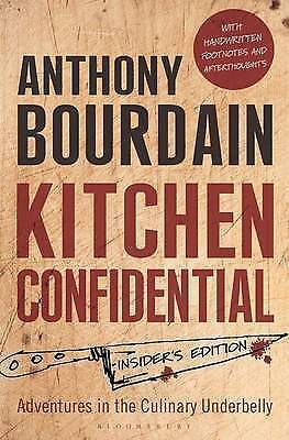 New Kitchen Confidential: Insider's Edition by Anthony Bourdain Free shipping