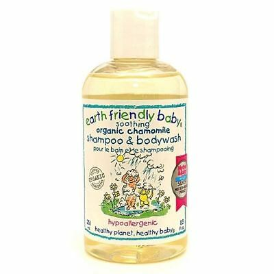 Earth Friendly Baby Soothing Cham Shampoo & Body Wash [250ml] (6 Pack)